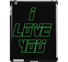 I Love You - METAL GEAR SOLID iPad Case/Skin