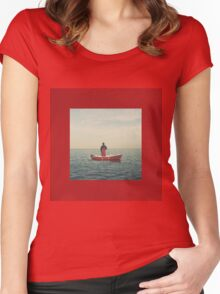 Lil Yachty - Lil Boat Women's Fitted Scoop T-Shirt