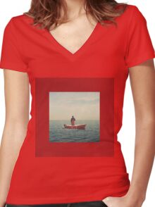 Lil Yachty - Lil Boat Women's Fitted V-Neck T-Shirt