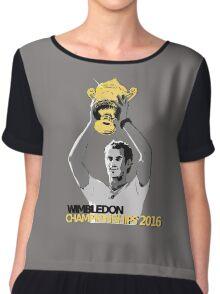 Andy Murray Wimbledon Champions 2016 Chiffon Top