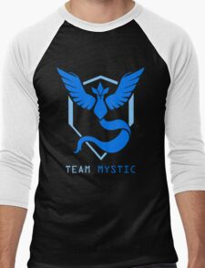 Team Mystic - Pokemon Go Men's Baseball ¾ T-Shirt