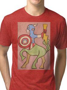 Centaur America Tri-blend T-Shirt
