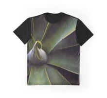 Plant In Abstract Graphic T-Shirt
