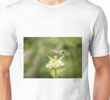 Ruby Throated Hummingbird 2016-5 Unisex T-Shirt