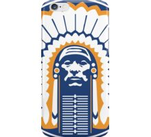 chief illiniwek iPhone Case/Skin