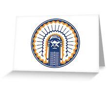 chief illiniwek Greeting Card