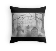 Witching Hour Throw Pillow