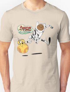 Adventure Time Finn and Jake Robot Unisex T-Shirt