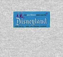 Vintage Disneyland, Vintage Poster Unisex T-Shirt