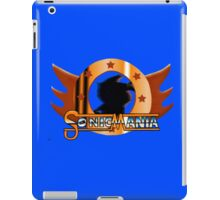 Sonic Mania. Showcase of the Fast. iPad Case/Skin