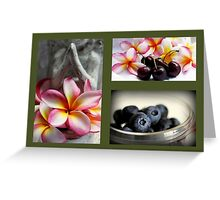Impressions Of Summer Greeting Card