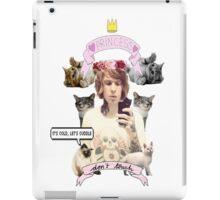 Alan Ashby; Ginger Cat Princess iPad Case/Skin