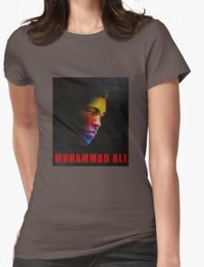 muhamad ali Womens Fitted T-Shirt