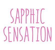 SAPPHIC SENSATION Photographic Print