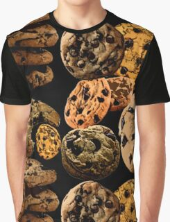 Chocolate Chip Cookies Graphic T-Shirt