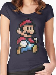 All Stars - Super Mario Bros 3  V01 Women's Fitted Scoop T-Shirt