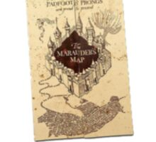 Harry Potter Marauder's Map Print Sticker