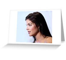 Marie Avgeropoulos - Comic Con - The 100 Poster Greeting Card