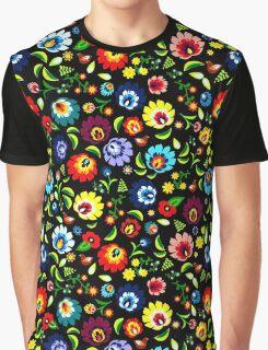 Hungarian Folk Pattern Graphic T-Shirt