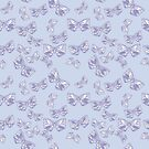 Moth Matrix in Lavender by ThistleandFox
