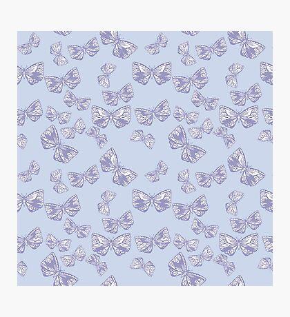 Moth Matrix in Lavender Photographic Print