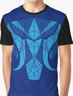 Elephant Head Graphic T-Shirt