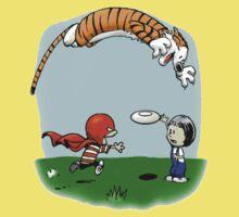 Tigerhobbes Play With Best Friend  Baby Tee
