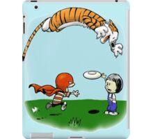 Tigerhobbes Play With Best Friend  iPad Case/Skin
