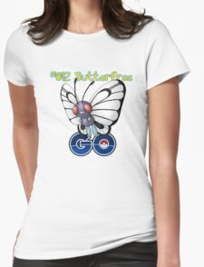 012 Butterfree GO! Womens Fitted T-Shirt