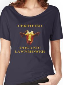 Certified Organic Lawnmower Women's Relaxed Fit T-Shirt