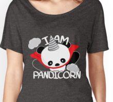 Funny Panda Pandicorn Women's Relaxed Fit T-Shirt
