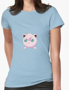 Jigglypuff Pokemon Womens Fitted T-Shirt