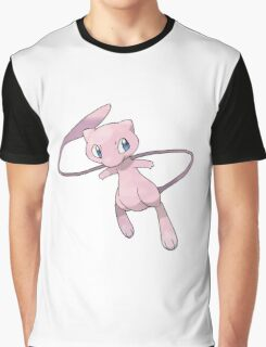 Mew Pokemon Graphic T-Shirt