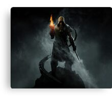 The Dragonborn Canvas Print