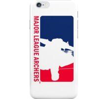 Major League Archers iPhone Case/Skin