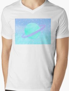 Space Aged DayDream Mens V-Neck T-Shirt