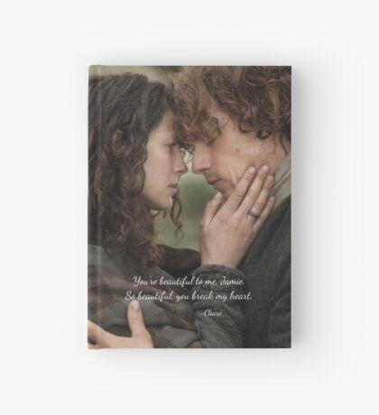 Outlander/Jamie Fraser/Quote from Diana Gabaldon Hardcover Journal