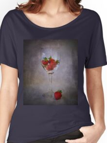 Strawberry Still Life III Women's Relaxed Fit T-Shirt