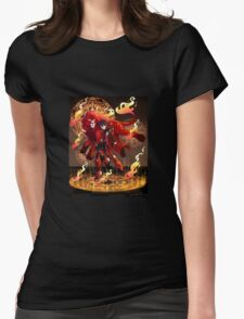 Kieth   Red Paladin of Fire   Aries Womens Fitted T-Shirt