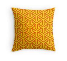 Retro Geometric Pattern Throw Pillow