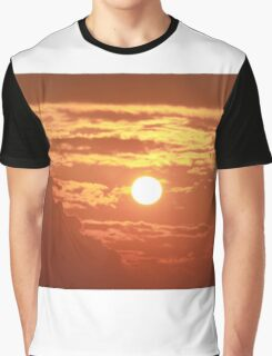 Ocean Sunset  Graphic T-Shirt
