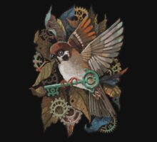 Clockwork Sparrow Kids Tee