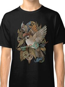 Clockwork Sparrow Classic T-Shirt