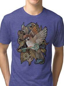 Clockwork Sparrow Tri-blend T-Shirt