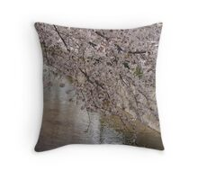 Ten thousand petals Throw Pillow