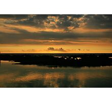 Sunset in Kona Photographic Print