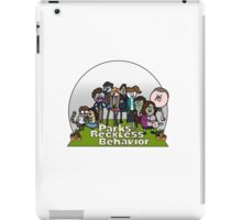 Parks and Reckless Behavior iPad Case/Skin