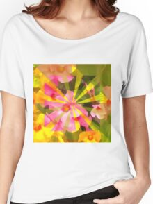 Sun-kissed Floral Women's Relaxed Fit T-Shirt