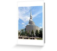 Amazing Architecture - Temple of Community of Christ Greeting Card