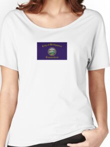 Flag of Bridgeport  Women's Relaxed Fit T-Shirt